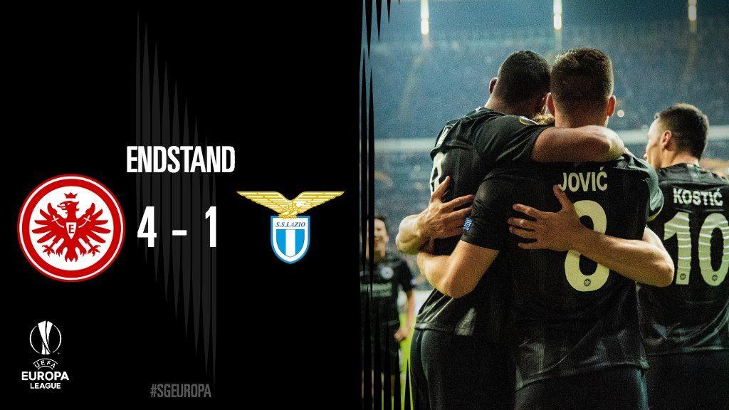 Az Eintracht nem viccelt, második győzelmét aratta az Európa Ligában!
