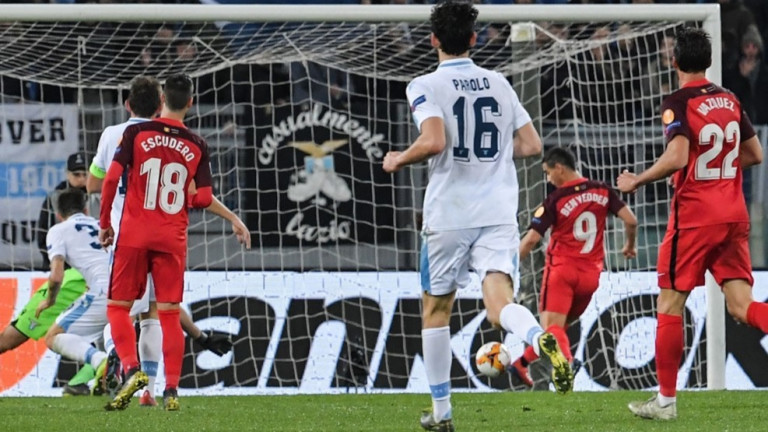 Európa Liga: Lazio - Sevilla 0-1
